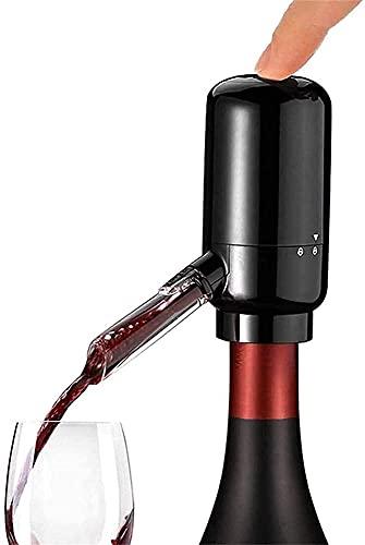 Kettles Aeroador de Vino eléctrico Apagado por batería Dispensador de Vino Bomba de Vino automático Vino Vino instantáneo Decantador con Tubo de Silicona para Fiesta de Fiesta de Vacaciones de Fiesta