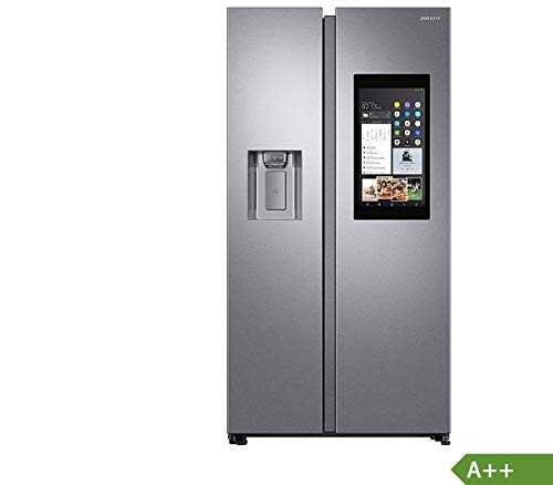 Samsung RS8000 FamilyHub RS68N8941SL/EF Side-by-Side/A++/178 cm/382 kWh/Jahr/383 L Kühlteil/210 L Gefrierteil/Food Cam & Food Reminder/Rezepte App/ [Energieklasse A++]