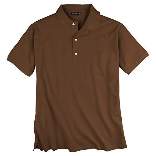 Redfield Poloshirt 4XL Braun