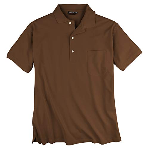 Redfield Poloshirt 4XL Braun