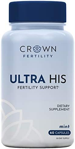 Crown Fertility Ultra HIS Enhanced Male Fertility Supplement to Increase Conception by Helping product image