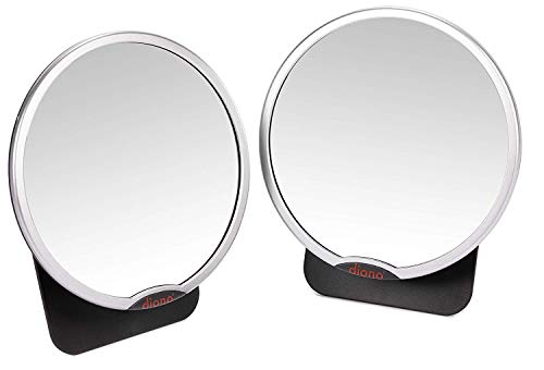 Diono Two2Go Easy View, Back Seat Baby Mirror (2-Pack)