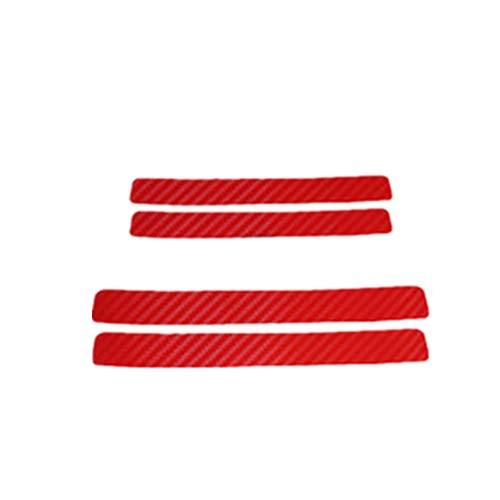 Protector Puertas Coche FáCil De Instalar Buena Flexibilidad Protector Paragolpes Coche FáCil De Limpiar Alta Calidad Protector Puerta Coche For AutobúS Red,One Size