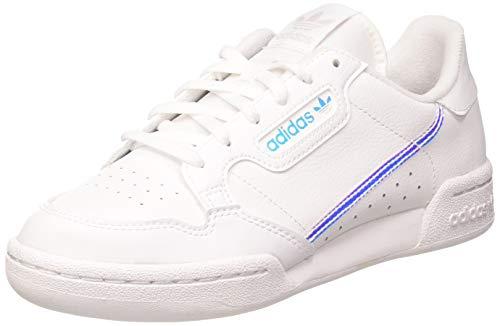 adidas Continental 80 J, Zapatillas Deportivas Mujer, FTWR White FTWR White Core Black, 37 1/3 EU