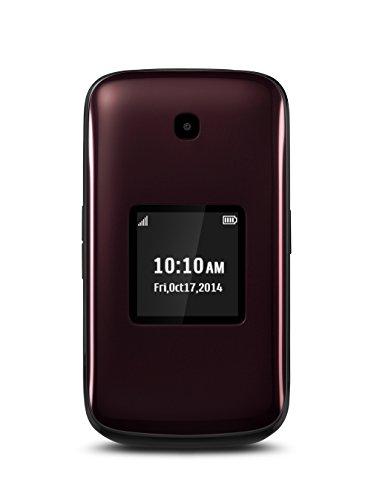 Alcatel OneTouch Retro, Reddish Black (Sprint)