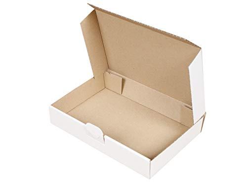 50 Maxibriefkartons 240 x 160 x 45 mm weiß | Versandkarton DIN A5 | geeignet für Warensendung mit DHL | wählbar 25-2000 Kartons