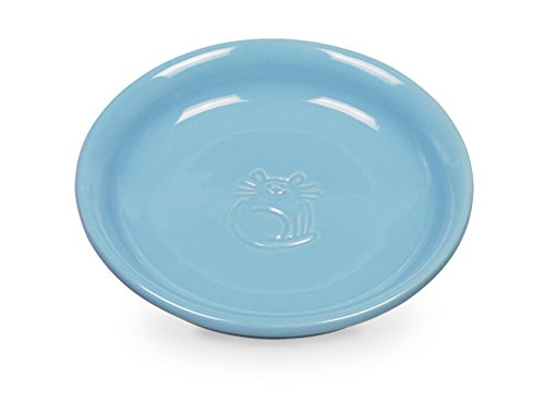 Nobby Katzen Keramik Milchschale hellblau Ø14 x 2 cm