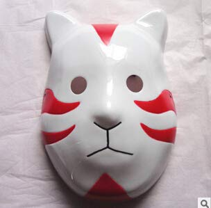 Tebatu Anime Naruto ANBU Ninja Maske Cosplay Kostüm Zubehör Party