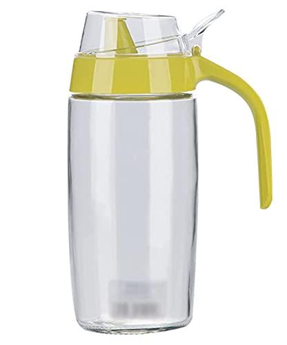 Botella Dispensadora De Aceite De Oliva, Botella De Condimento Para Ollas De Aceite A Prueba De Fugas Para El Hogar, Botella De Aceite De 573 Ml Y Vinagre, Contenedor De Aceite,Verde