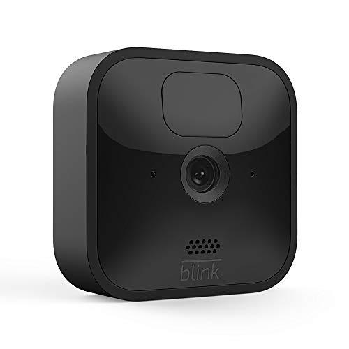 Nueva Blink Outdoor | Cámara de seguridad HD inalámbrica y resistente a la intemperie, con 2 años de autonomía, detección de movimiento y prueba gratis del Blink Subscription Plan | 1 cámara