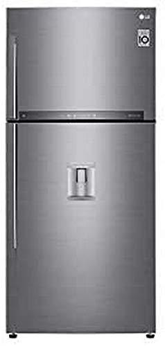 LG GTF925PZPZD nevera y congelador Independiente Acero inoxidable 565 L A++ - Frigorífico (565 L, N-T, 7 kg/24h, A++, Compartimiento de zona fresca, Acero inoxidable)