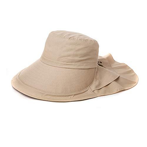 Vinteen Gran Lotus Leaf Sun Hat Cap Mujer Verano Versión Coreana Visor Anti-UV Big Edge Ajustable Tibetan Blue Cap Hat Cool