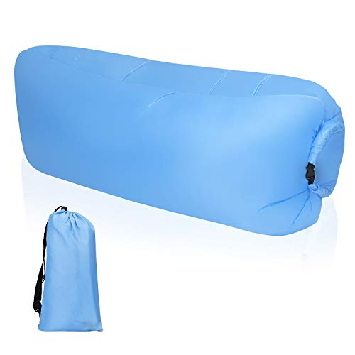 MaoXinTek Sofa Hinchable Tumbona Inflable con Paquete Portátil para Viajes, Piscina, Camping, Parque, Playa, Patio Trasero