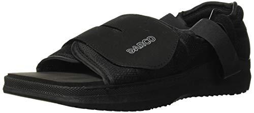 Complete Medical Darco Med-Surg Shoe Black Square-Toe Men's, Large, 0.75 Pound