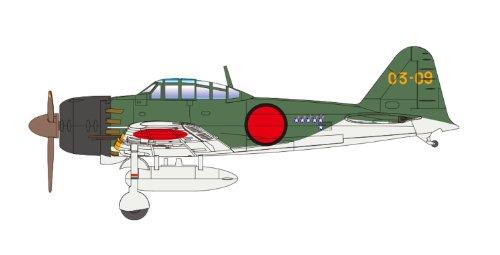 Cincuenta y dos de agua valle tipo Hei Hola la aeronave No.02 Zero Fighter 1/72 Zero serie Fighter (Pintado) (jap?n importaci?n)