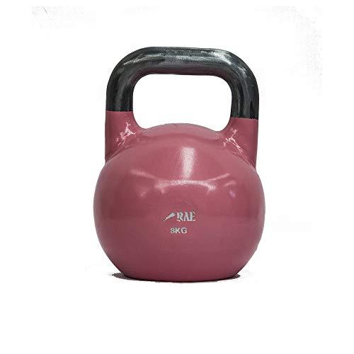 Kettlebell de Competição de Ferro Colorido para Treinamento Funcional 8 kg - Rae Fitness