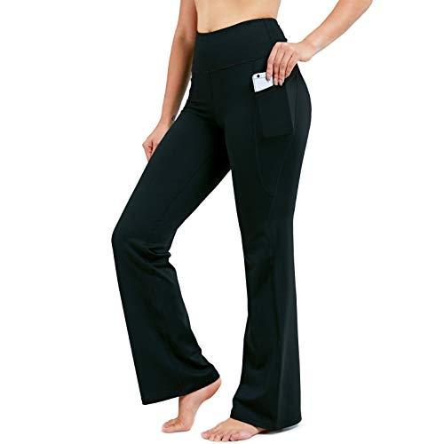 TITLE_Gradual Bootleg High-Waisted Flare Pants