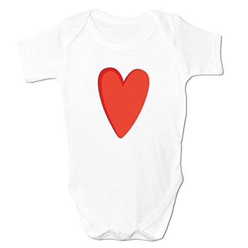 Bang Tidy Clothing Heart Love Loveheart Emoticon Icon Symbol Cartoon Cute Kids Baby Grow