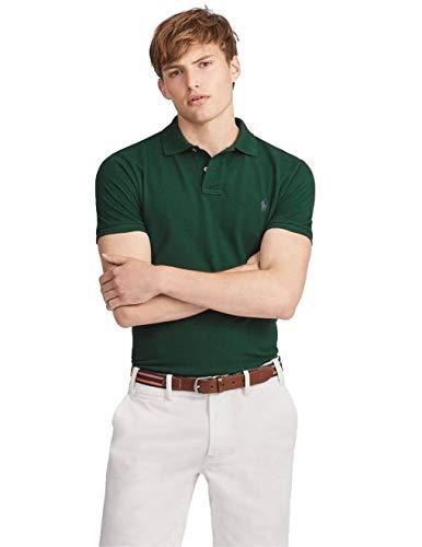 Ralph Lauren Poloshirt für Herren, Waldgrün, Grün XXL