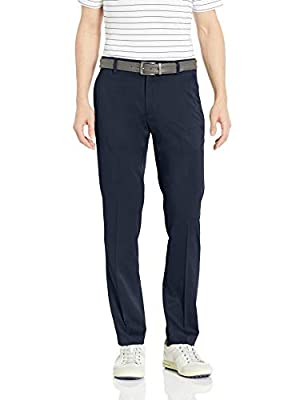 Amazon Essentials Men's Slim-Fit Stretch Golf Pant, Navy, 34W x 34L