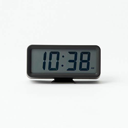 MUJI Uhr, Plastik, Schwarz, Mittelgroße