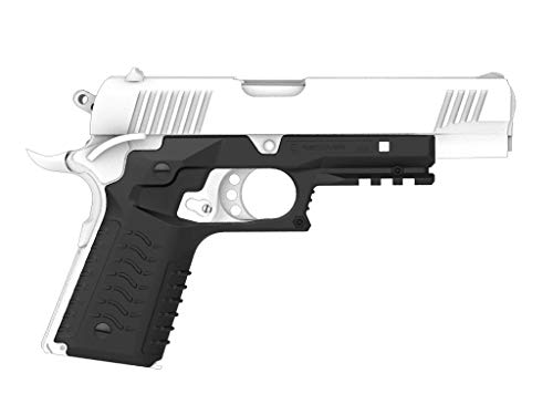 Recover Tactical CC3H 1911 Grip and Rail System No Modifications Required, Goes on in Under 3 Minutes