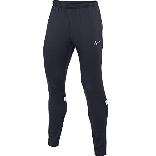 Nike Dri-Fit Academy, Pantaloni della Tuta Uomo, Ossidiana/Bianco/Bianco/Bianco, M