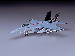 Hasegawa 1/72 Scale F/A-18E Super Hornet, E Series US Navy Carrier Borne Fighter Aircraft Model Kit # 00549