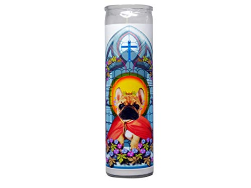 Do Pray Tell French Bulldog Prayer Candle