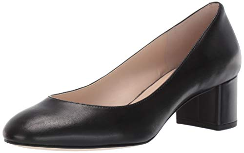Cole Haan Women's Lesli Pump (50MM), Black Leather, 10 B US