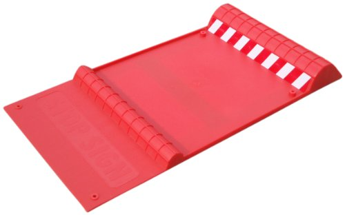 "Maxsa Innovations 37359 Park Right 21"" x 11"" x 2"" Parking Mat, Red"