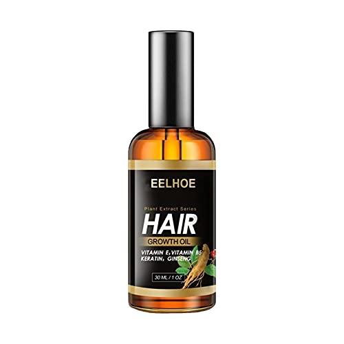 育毛剤 30ml ヘアオイル 男性女性用 発毛剤 成分エッセンス 自然で健康な髪の維持と成長を助けます パッタ式二