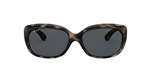 Ray-Ban 4101 Gafas de sol, Havana Grey, 57 para Mujer