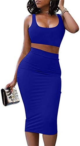 Royal blue dresses short _image2