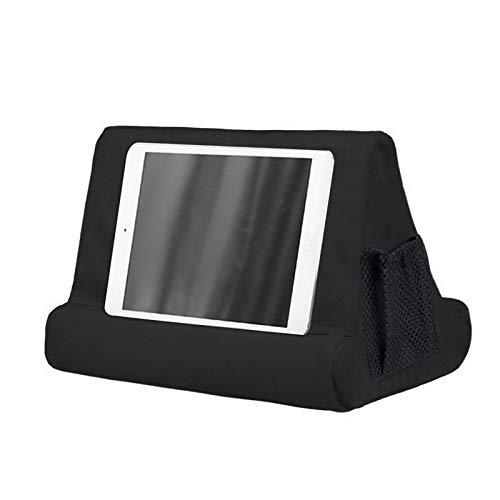 MoneRffi Tablet Holder Cushion Tablet Stand Multi-Angle Tablet Cushion Stand Lap Stand Pad Support for Phones, Books, Magazines 1 PCS