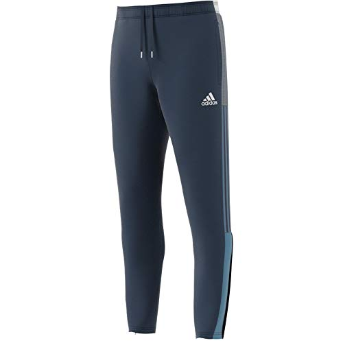 adidas GQ1046 Tiro TK PNT CU Sport Trousers Mens Crew Navy/Hazy Blue M