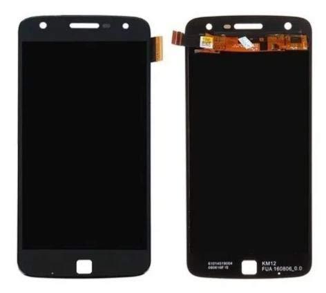 Frontal Tela Vidro Touch E Display Lcd Moto Z Play Xt1635 Preto