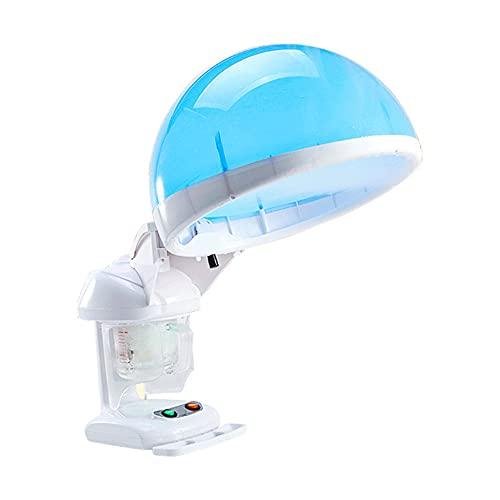 XWZ Nano Iónico Vaporizador Facial, Facial Steamer, Vaporizador Facial Y para El Cabello 2 En 1, Máquina para Salón De Belleza, Máquina para Engrasar El Cabello