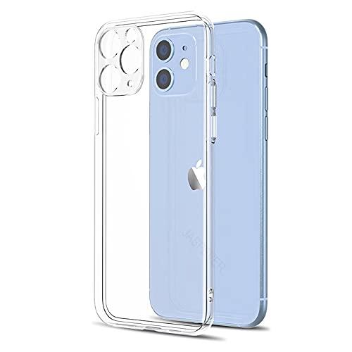 TYFYBH Case Custodia in Trasparente Trasparente Trasparente Chiaro per for iPhone 11 12 SE 2020. Pieno Copertura Custodia (Color : Clear, Material : for iPhone 5C)