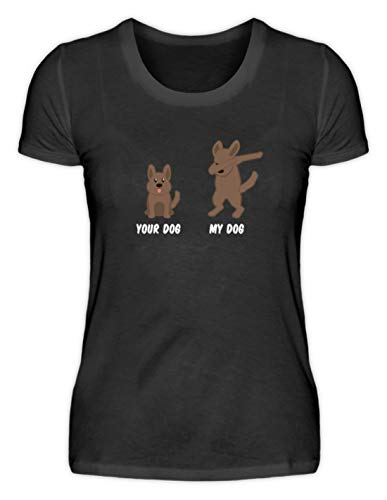 Generieke uw hond - Mijn hond/Your Dog - My Dog - Coole hond Dabbing Design dierenliefde motief - Damesshirt