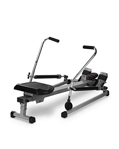 DSHUJC Máquinas de Remo para Uso doméstico Máquina de Remo Cardio Rower Workout Fitness Body Tonner Home Gym Training LCD Monitor generación