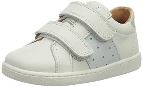 Bisgaard Unisex-Kinder Kadi Sneaker, Weiß (White 1104), 39 EU