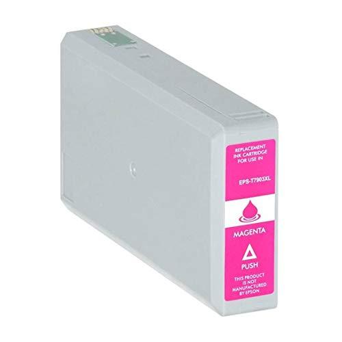 T7903-XL Cartuccia compatibile Magenta Per Epson WorkForce WF-4630 4640 5110 5190 5620 5690 79XL