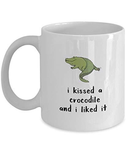 N\A Besé a un cocodrilo y me gustó Taza de café, Blanca