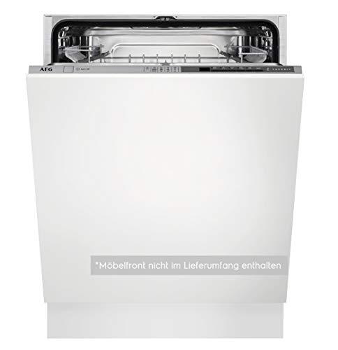 AEG FSE53605Z Vollintegrierter-Geschirrspüler / 60 cm / AirDry / Energiesparend / Spülmaschine mit Besteckkorb, Beladungserkennung, Glas-,...