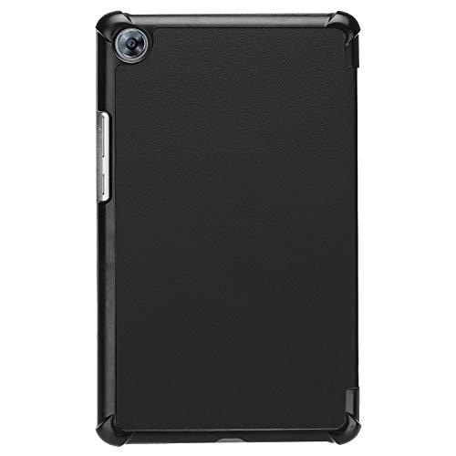 Hülle für Huawei MediaPad M5 8.4 Zoll Schutzhülle Tablet Smart Cover mit Auto Sleep/Wake, Standfunktion und Touchpen Schwarz - 3