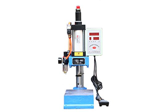 KUNHEWUHUA Pneumatic Punch Press Machine 200KG Small Desktop Punch Machine Pressure with Digital Controller