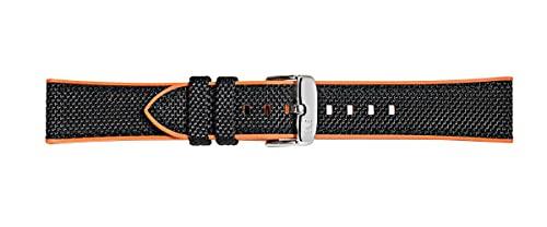 Morellato Unisex-Armband aus der Sport-Kollektion, 20 mm, aus technischem Gewebe und Gummi – A01X5122C62