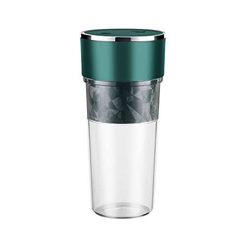 Ziao Licuadora portátil USB recargable, mini exprimidor vaso pequeño prensado, vaso de zumo de frutas, vaso exprimidor eléctrico