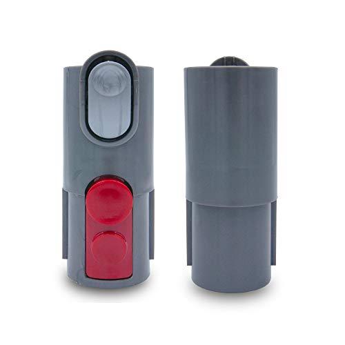stōbfix Anschluss Adapter alt auf neu für Dyson Staubsauger V7, V8, V10, V11, SV10, SV11 wie 968235-01 – altes Zubehör an neuem Staubsauger